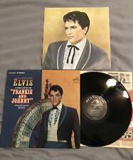 ELVIS PRESLEY ~ FRANKIE & JOHNNY LP ~ RCA VICTOR LSP-3553 Stereo ~ With Picture