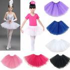 Ballet Tutu Mini Princess Dress Up Dance Costume Party Girls Toddler Kids Skirts
