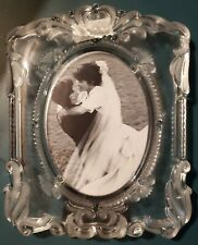 "Mikasa Princess Crystal Picture Frame 14 1/4"" x 11"