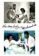 Boxing Collectable Pre-Printed Music Autographs