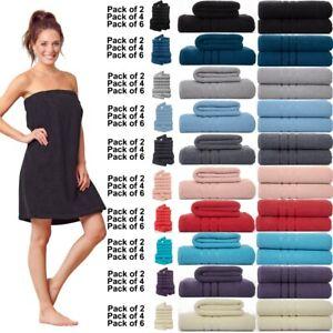 6x Extra Large Super Jumbo Bath Sheets 100% Prime Egyptian Cotton Luxury Towels