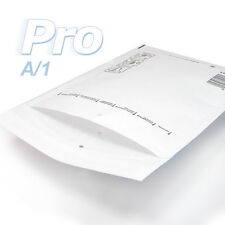 100 Enveloppes à bulles blanches gamme PRO taille A/1 format utile 90x165mm
