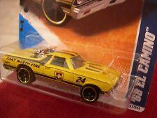 Hot Wheels '68 El Camino HW Main Street Fort Worth Fire!! Yellow