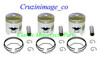 KAWASAKI H1 1.0mm OVERSIZE PISTON SET Pistons,Rings,Pins,Clips,Include 10-H1PS-2
