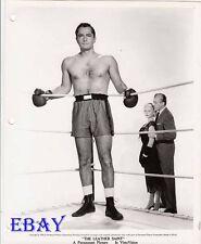 John Derek barechested boxer VINTAGE Photo Leather Saint Jody Lawrence