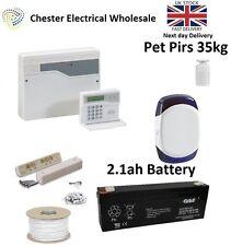 Honeywell Accenta Mini G4 Lcd ladrón intruso alarma Kit House 1 X Pet pirs 35 Kg