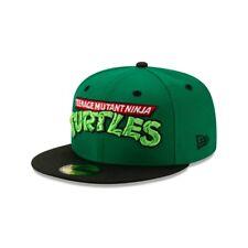 Teenage Mutant Ninja Turtles TMNT Wordmark New Era 59Ffity Fitted Hat Sz. 7-1/4