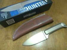 Cold Steel 36M Drop Forged Hunter Fixed Blade Knife with Leather Sheath