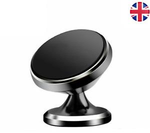 Universal Car Phone Holder Magnetic 360 Rotation Swivel Dashboard Mount UK STOCK