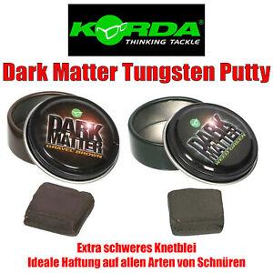 Korda Dark Matter Tungsten Putty Wolfram Knetblei f. Karpfen Montage - 2 Farben