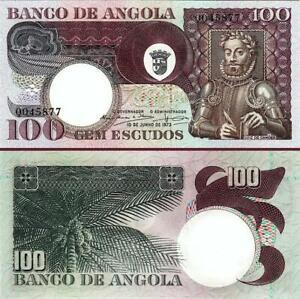 Angola 100 Escudos 1973, UNC, P-106
