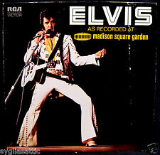 ELVIS PRESLEY: AS RECORDED AT MADISON SQUARE GARDEN-Near Mint Album-RCA VICTOR