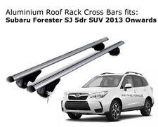 Aluminium Roof Rack Cross Bars fits SUBARU Forester SJ 2013 Onwards