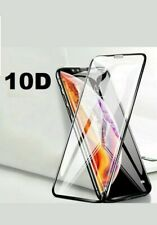 TEMPERED GLASS Screen Protector for iPhone X,XR,XS MAX 7 810D Curved FULL COVER