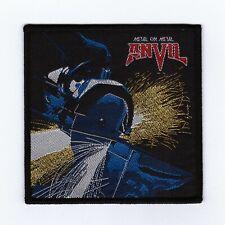 "Anvil ""Metal On Metal Patch accept-raven-judas priest-saxon-exciter-diamond head"