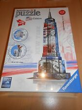 puzzle 3D  216 pièces NEW YORK empire state building éd. drapeau - sous blister