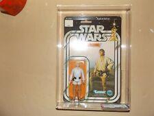 1977 Vintage Star Wars 12 back Luke Skywalker w/ 32Back Sticker Variant AFA 80