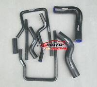 Silicone Radiator Hose For Subaru Impreza WRX/STI GC8 GF8 EJ20 EJ25 96-00 BLACK