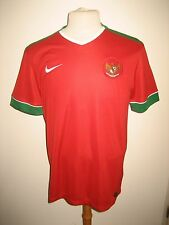 Indonesia home football shirt soccer jersey maillot trikot camiseta size L