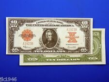 Reproduction $10 1923 LT US Paper Money Currency Copy