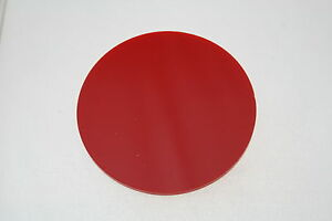 RED 4403 PERSPEX DISCS ACRYLIC ROUND CIRCLES 3mm thick 100mm - 600mm diameter