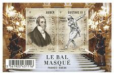 FRANCE 2012...Miniature Sheet F4706 MNH...Opéras Gustave III ou le Bal Masqué