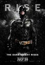 THE DARK KNIGHT RISES Poster Movie (BATMAN) (RISE) (27x40) Christian Bale