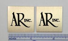 Large AR Acoustic Research speaker badge logo emblem