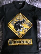More details for linkin park meteora spray paint double-sided logo tshirt (worn used small)