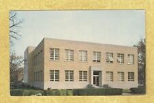 CT Bridgeport vintage 1950-60s postcard CARLSON LIBRARY UNIVERSITY B IN CONN
