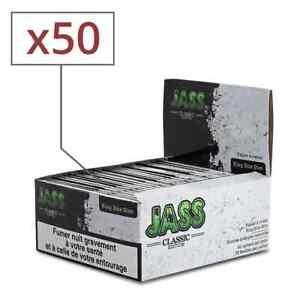 """JASS Slim """"classic edition"""" 50 carnets de feuilles à rouler longue"""