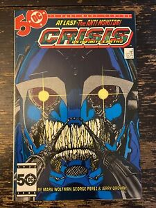 Crisis On Infinite Earths #6 - 1st App. Captain Atom (DC) Free Combine Shipping