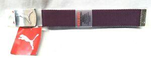 PUMA GOLF WORKS WEB BELT Purple Women's - One Size - Cut to Size