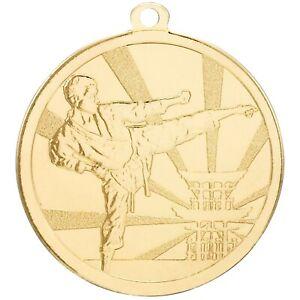 70mm Martial Arts Medals FREE ribbon, engraving & ukpp GSB Karate Judo Taekwondo