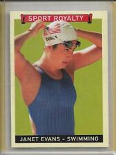 """JANET EVANS (USA OLYMPIC SWIMMER) - 2008 UD GOUDEY """"SP"""" SPORT ROYALTY CARD #290"""