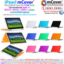 """iPearl mCover® Hard Case for 11.6"""" Acer Chromebook Spin 11 R751T CP311 CP511"""