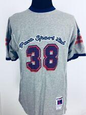 Vtg Paco Sports Athletlic Shirt Men's Sz Large Two Sided Short Sleeves
