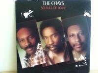 THE    O, JAYS                    LP         SO  FULL  OF  LOVE
