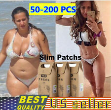 50-200PCS/Lot Weight Loss Slimming Medicine Slim Patch Pads Detox Adhesive Sheet