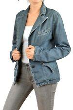 REPLAY blazer Jacket Denim Blue Faded Vintage 80s Slim MADE IN ITALY XL VGC