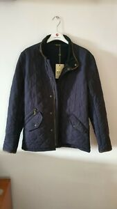 NEW Barbour Powell quilted Jacket in Navy Size S RRP £159