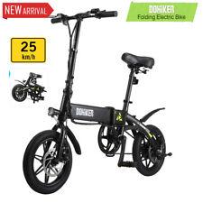 25KM/H E-Bike Bicicletta Elettrica Pieghevole BICI Elettrica Durable Tire LED EU
