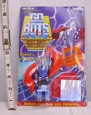 TONKA GO BOTS KLAWS ROBOT FIGURE NEW ON CARD UNPUNCHED 1985