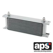 APS Boîte Vitesses/Diff/Engine Oil Cooler 13 Row 235 mm - 10AN JIC Mâle Raccords