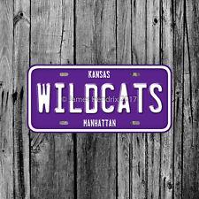 Kansas State University Wildcats Manhattan License Plate