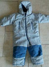 H&M Baby Jungen Schneeanzug Schneeoverall Blau Gr.80*NEU*