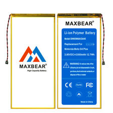3300mAh Li-Polymer Replacement Battery for Motorola Moto Xt1641 Ga40+free tool