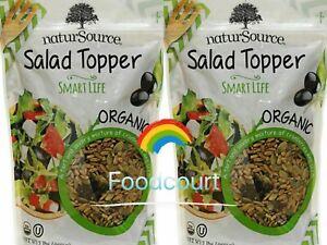 2 Packs NaturSource Organic Salad Topper Smart Life 2 LB Each Pack