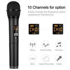 Wireless Bluetooth Karaoke Stereo Handheld Microphone Mic Ktv Usb Speaker Player