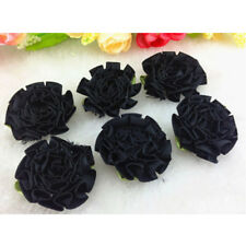 12-120pcs 30 mm DIY ribbon Carnation Flower Appliques/craft/Wedding decoration